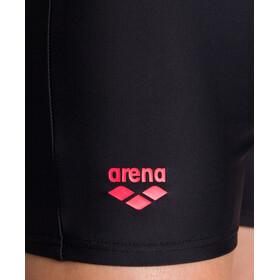 arena Spotlight Short Garçon, black/fluo red